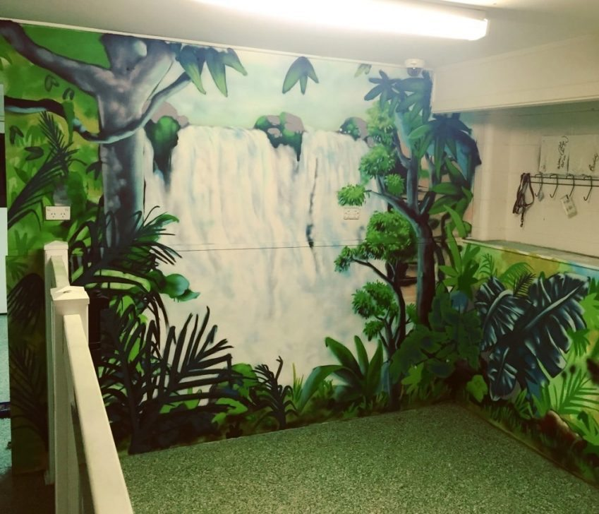 commercial mural art
